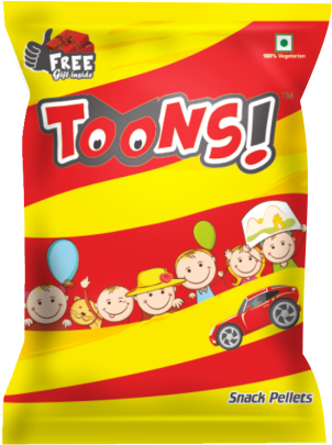 A Free Toy With Every Toon Packet